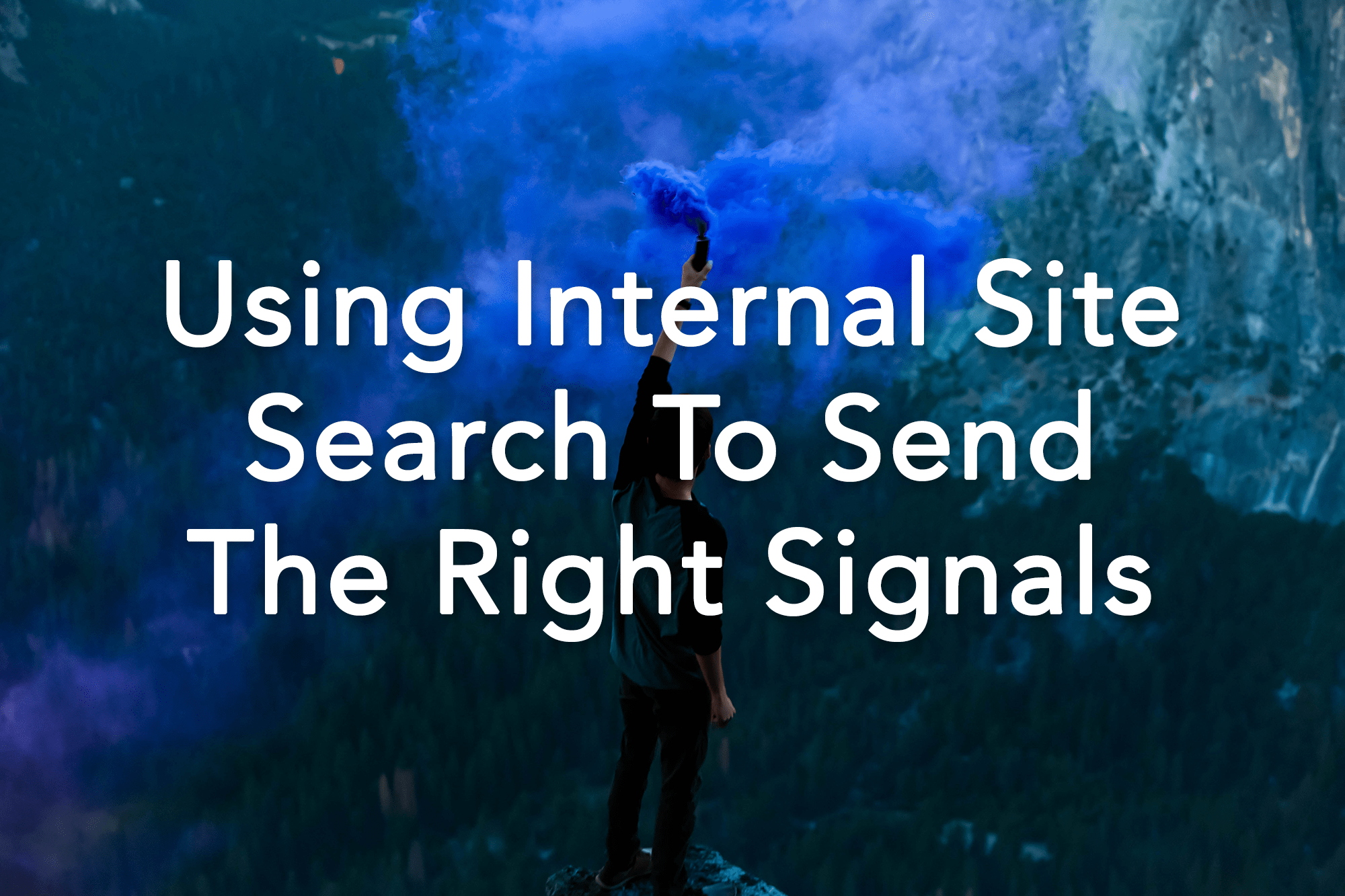 Using Internal Site Search to Send the Right Signals