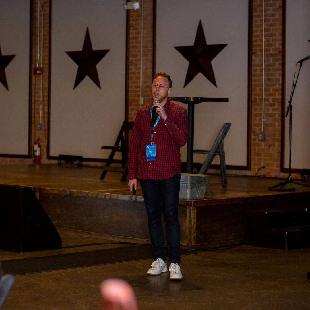 James Speaking at State of Search 2019